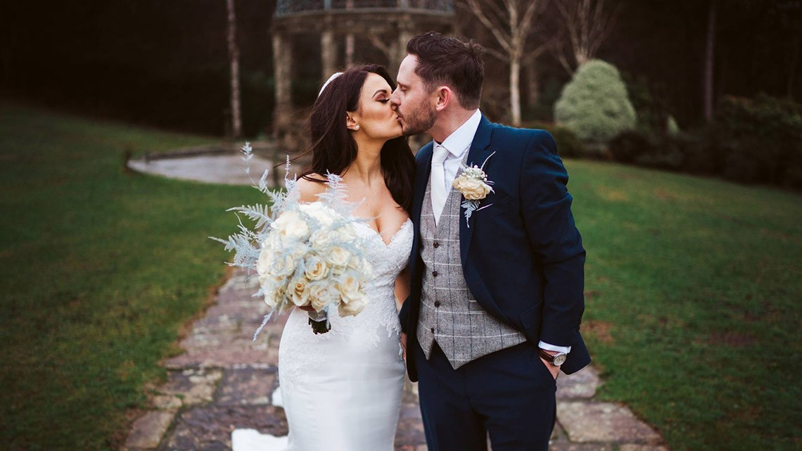 Candle Lit Winter Wedding At The Place They First Met…