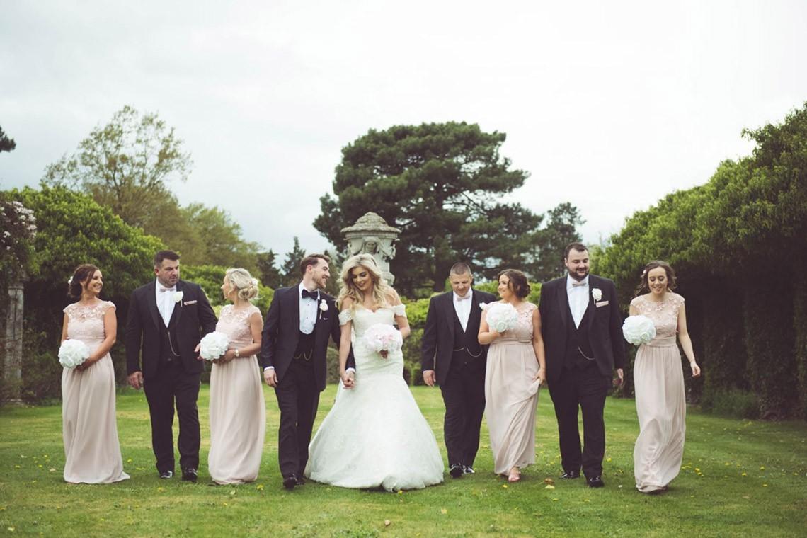 Staci & Karl's Glamorous Thornton Manor Wedding…