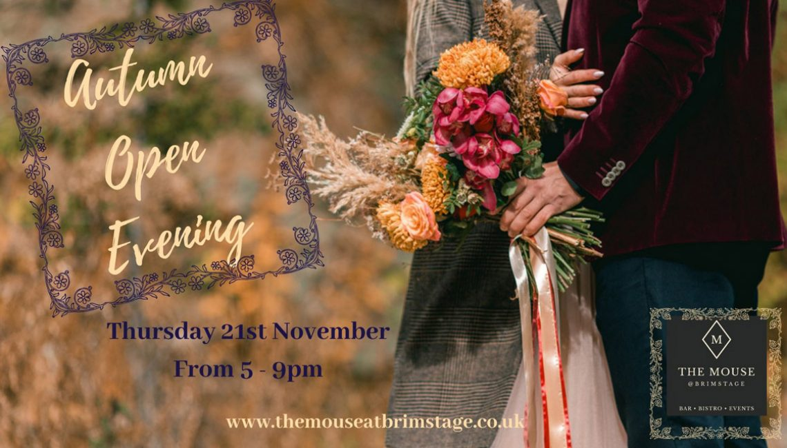 The Mouse At Brimstage Hosts Autumn Open Evening