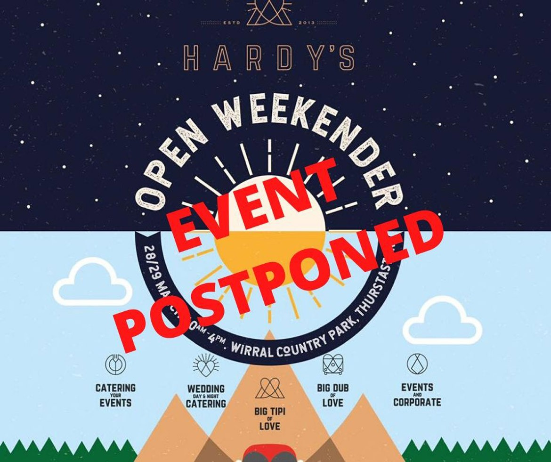 The Big Tipi of Love Open Weekender Postponed