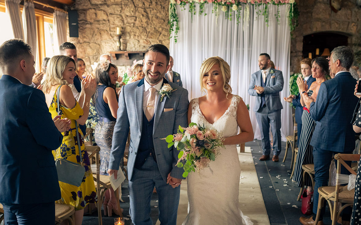 A Truly Wonderful Welsh Wedding Day At The Magical Vale Country Club